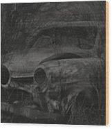 Abandoned Studebaker Wood Print