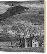 Abandoned Two-story Farmhouse - P Road Nw - Waterville - Washington - May 2013 Wood Print