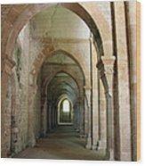 Abbey Fontenay I Wood Print