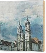 Abbey Of St Gall Wood Print