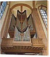 Abbey Organ Wood Print