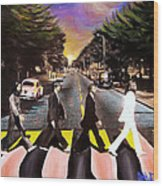 Abbey Road Wood Print