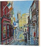 Abbey Street Ennis Co Clare Ireland Wood Print