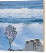 Abbott Kinney #1 Wood Print