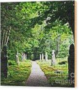 Abby Aldrich Rockefeller Path Statuary Wood Print