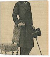 Abel Hermant (1862-1950) French Writer Wood Print