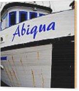 Abiqua Wood Print by Mamie Gunning