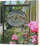 Abita Springs Trailhead Museum Wood Print