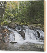 Abol Falls 4392 Wood Print