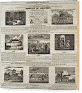Abolitionism, 1736 Wood Print