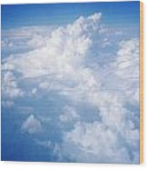 Above The Clouds 1 Wood Print