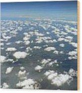 Above The Clouds II Wood Print
