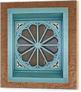 Above The Door Wood Print