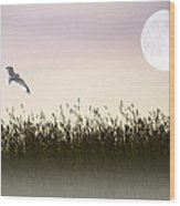 Above The Tall Grass Wood Print by Tom York Images