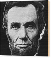 Abraham Lincoln 1 Alexander Gardner Photo Washington D.c. C. 1864 Wood Print