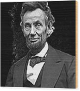 Abraham Lincoln 2  Alexander Gardner Photo Washington Dc  February  1865 Wood Print