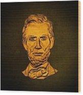 Abraham Lincoln  Wood Print by David Dehner