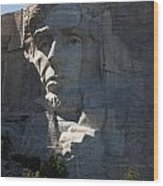 Abraham Lincoln Mount Rushmore National Monument Wood Print