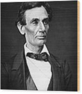 Abraham Lincoln Portrait Wood Print