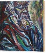 Abraham  Patriarch Wood Print