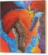 Abs 0446 Wood Print