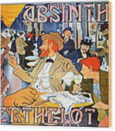 Absinthe Berthelot Wood Print