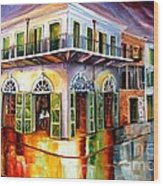 Absinthe House New Orleans Wood Print