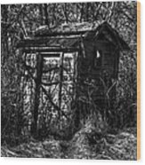 Absorbed By Time Wood Print by Thomas Young