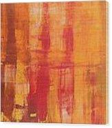Abstrac 78 Wood Print