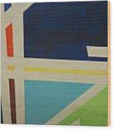 Abstracat Exhibit Wood Print