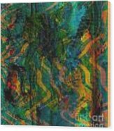 Abstract - Emotion - Apprehension Wood Print