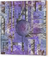Abstract   Sphere Wood Print