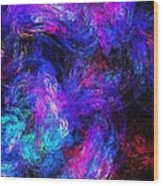 Abstract 021314 Wood Print