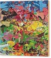 Abstract 022315 Wood Print