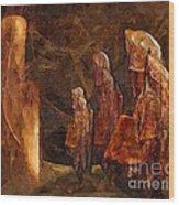 Abstract 0271 - Marucii Wood Print