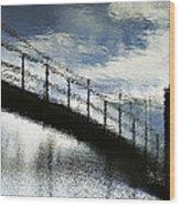 Abstract 031510 Wood Print