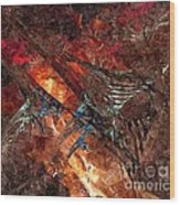 Abstract 0358 - Marucii Wood Print