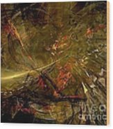 Abstract  0370 - Marucii Wood Print