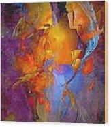 Abstract 0373 - Marucii Wood Print