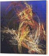 Abstract 042113a Wood Print