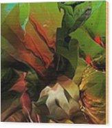 Abstract 050713 Wood Print