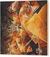 Abstract 0549 - Marucii Wood Print