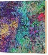Abstract 061313 Wood Print