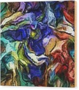 Abstract 082713b Wood Print