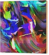 Abstract 082713d Wood Print