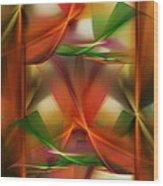 Abstract 092313 Wood Print