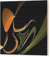Abstract 092713 Wood Print