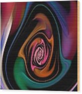 Abstract 100913 Wood Print