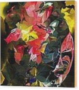 Abstract 102513 Wood Print