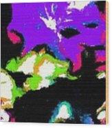 Abstract 104 Wood Print